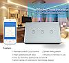 Умный сенсорный Wi-Fi выключатель Bascom WWS-2, фото 6