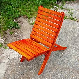 Садовое складное кресло вишня