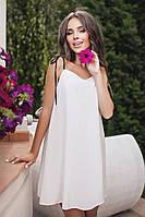(S, M, L) Жіночий літній білий сарафан Lillian