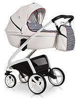 Детская коляска универсальная 2 в 1 Expander Storm 03 White (Экспандер, Польша)