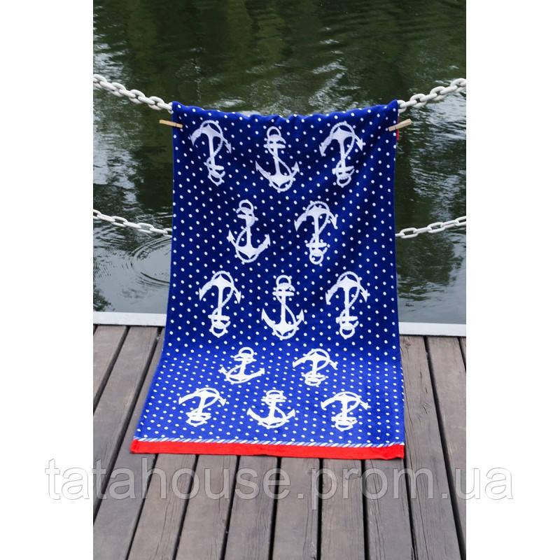Полотенце Lotus пляжное - Jetty 75*150 велюр