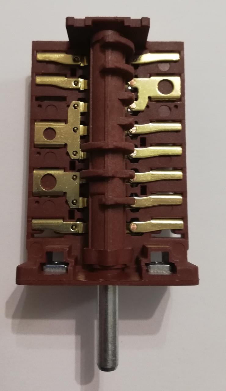 """Переключатель пяти-позиционный AC861A (AC8 контакты 8+7) для духовки """"PYRAMIDA"""""""