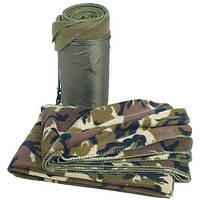 MIL-TEC Одеяло флисовое 200х150 (Woodland) (14426020)