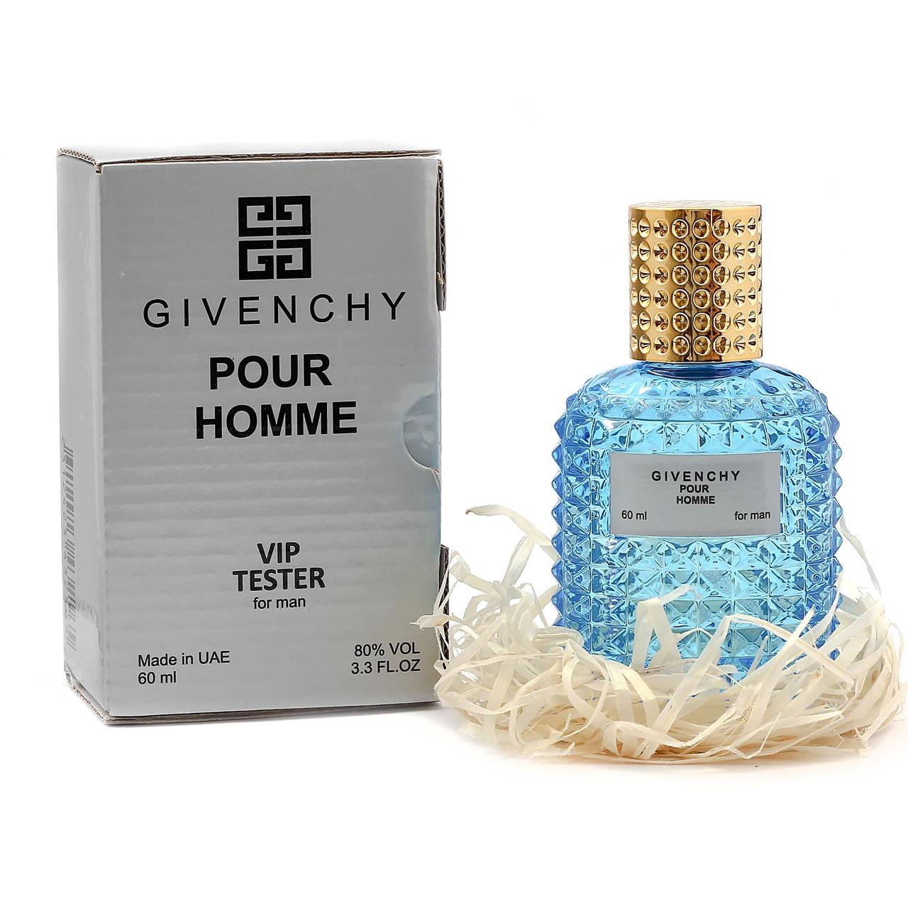 Тестер мужской Givenchy VIP Pour Homme, 60 мл