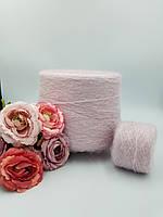 Итальянская пряжа WINTER ( кидмохер 30%, па 30%, пс 40%, нежно розовый,950 м/100 гр)