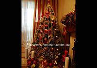 Украшение новогодней елки, новогоднее оформление домов,квартир, офисов, ресторанов.