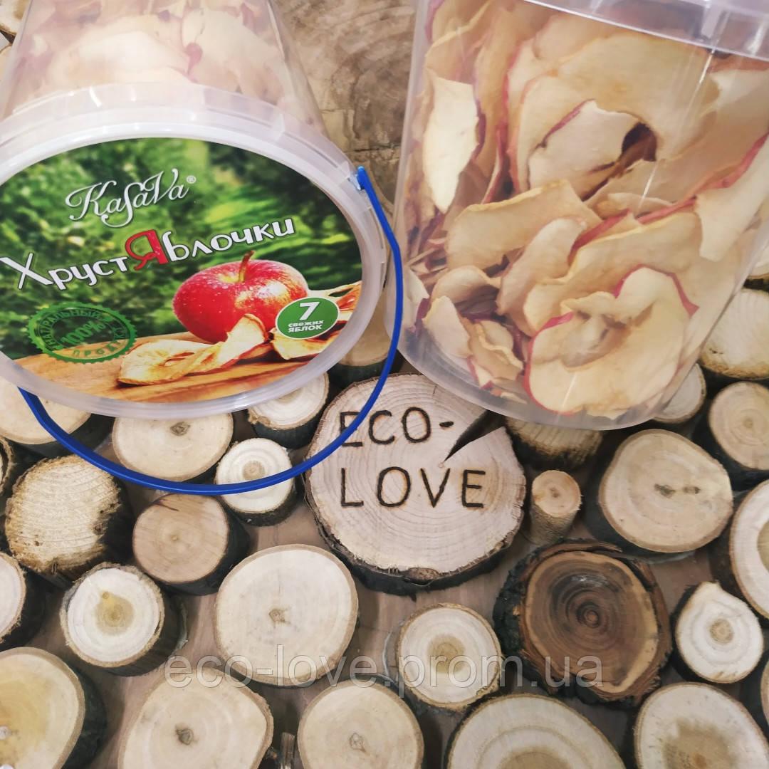 Яблочные чипсы ТМ Kasava 70 грм.