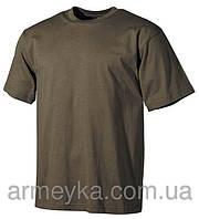 Армейская футболка USA, олива, 100 % cotton, фото 1