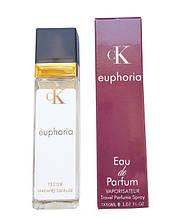 Женский парфюм копия Calvin Klein Euphoria for woman - Travel Perfume 40ml