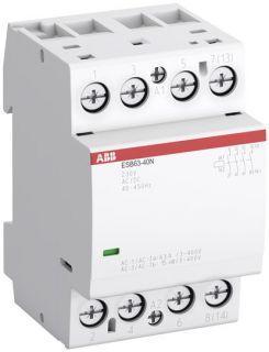 Контактор модульный ESB 63-40N-06 63A 4P 4HO 220V AC/DC ABB