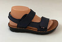 Кожаные сандали на мальчика Летние сандали для мальчиков