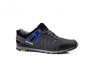 Підліткові кросівки Salamon сірі