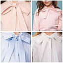 Блуза с завязками для девочек Matilda Размеры 122, 140 -152, фото 3