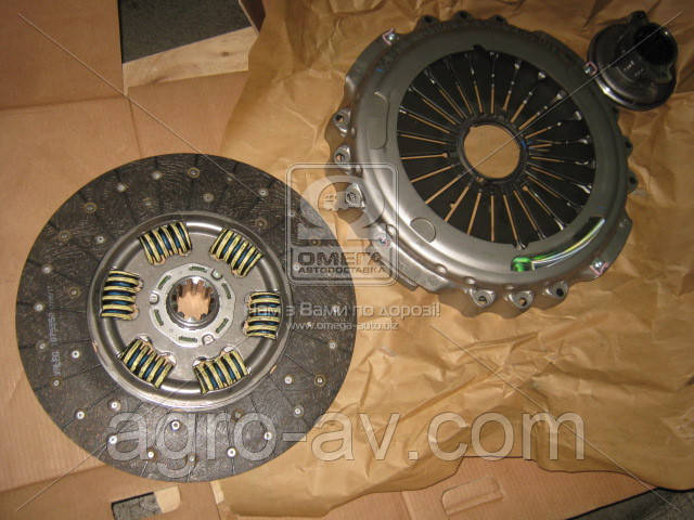 Сцепление (827290) MAN TGX Euro5 manual 540HP, TGX, TGS Euro6 manual D2676 440-480HP (компл.) (пр-во Valeo)
