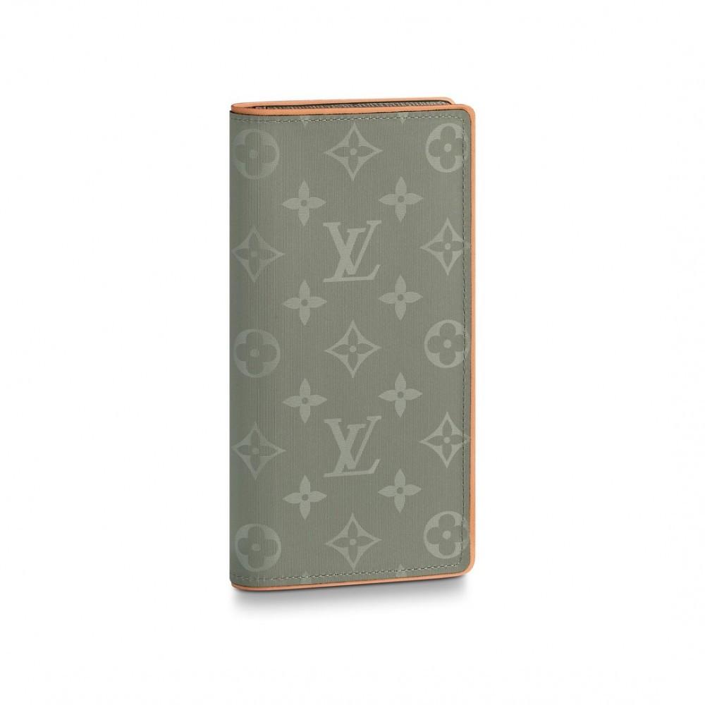 4c124c4e71ab Louis Vuitton Brazza кошелек мужской Monogram Titanium (реплика ...