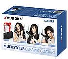 Мультистайлер для завивки и выпрямления волос Aurora 3579AU, фото 4