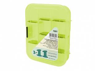 Коробка Aquatech 7001 3-11 ячеек (16 x 13 x 3.5 см)