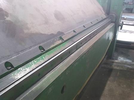 Листогибочный станок с поворотной балкой/ листогибочная машина ИВ2144П БУ 1989г.в., фото 2