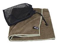 """Армейское полотенце Mil-Tec """"Microfibre"""" (100x50) Olive (16011101)"""