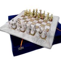 Шахматы из натурального оникса 40*40 см