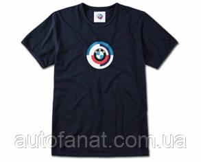 Оригинальная мужская футболка BMW Classic Motorsport T-Shirt, Men, Dark Blue (80142463110)