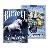 Покерные карты Bicycle Unicorns (Anne Stokes)