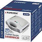 Сендвичница-гриль 3в1 (сменные насадки) Aurora 326AU, фото 2