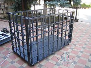 Ваги для тварин 1500 кг — ВН 1500-4 Промприлад