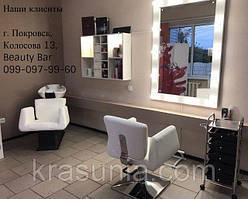 Парикмахерская мойка Orlando, парикмахерское кресло ORLANDO, парикмахерская тележка COIFFEUR