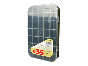 Коробка Aquatech 7035 5-35 ячеек (30 x 20 x 4.5 см)