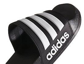 """Сланцы Adidas Cloudfoam Adilette """"Черные"""", фото 3"""