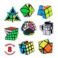Набор из 8 головоломок QiYi Bundle