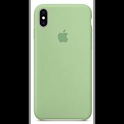 Чехол (copy) на iPhone X / XS  Silicone case Mint