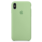 Чохол (copy) на iPhone X / XS Silicone case Mint