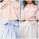Блуза с завязками для девочек Matilda TM Brilliant  Размеры 134 140 152, фото 3