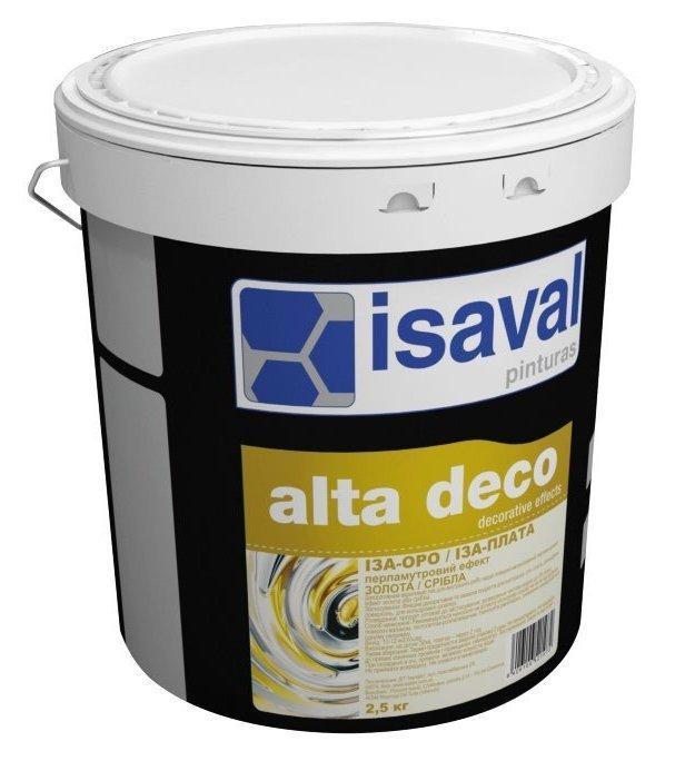 Декоративний лак ISAVAL Isa-oro золото 2.5 л