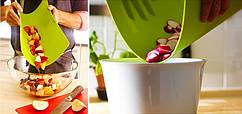 Кухонная гибкая разделочная доска набор (4шт)