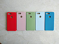 Original Silicone Case для Xiaomi Mi 8 Lite. Силиконовый чехол с микрофиброй для сяоми ми 8 лайт