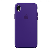 Чехол (copy) на iPhone X / XS  Silicone case Ultra Violet