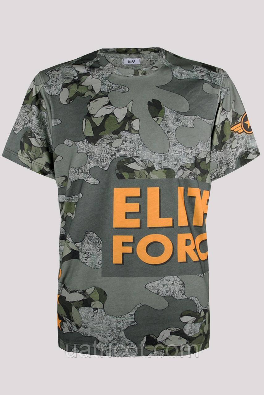 Футболка мужская KIFA ФМХ-019/25 ELITE FORSE ARMY