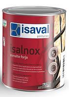 Антикорозійна емаль для металу з ефектом ковки ISAVAL Forja Чорна 0.75 л