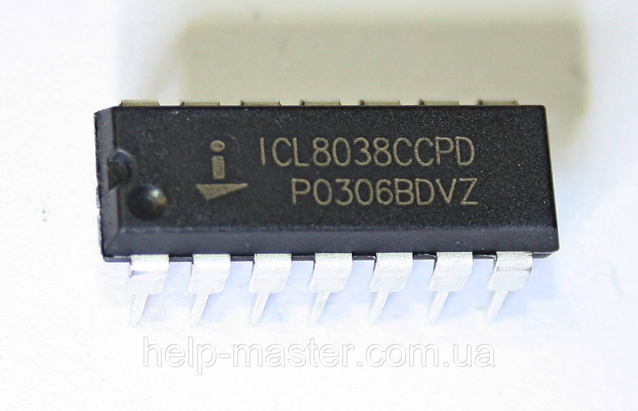 Микросхема ICL8038CCPD (DIP-14)