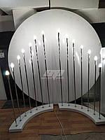 Лампы, декор для праздников, свадебная фотозона, президиум, фото 1