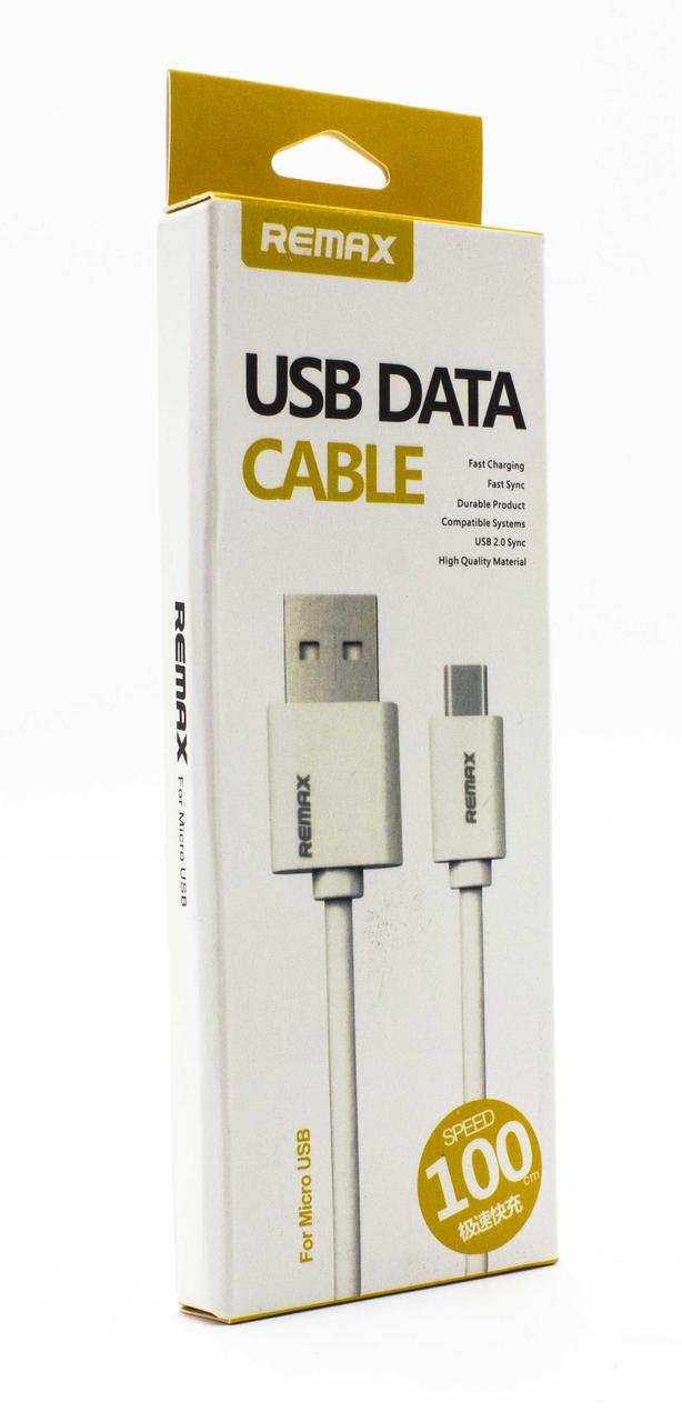 USB DATA  кабель  MicroUSB REMAX