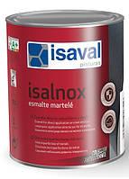 Антикорозійна емаль для металу з молотковим ефектом ISAVAL Martele Срібно-Сіра 0.75 л