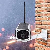 Камера CAD F20\2mp\ solar IP беспроводная уличная аккумуляторная камера видеонаблюдения с солнечной панелью