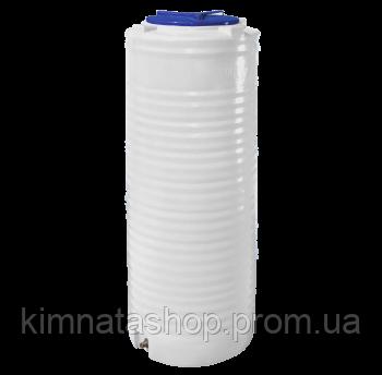 Емкость для воды  300 л. узкая,вертикальная