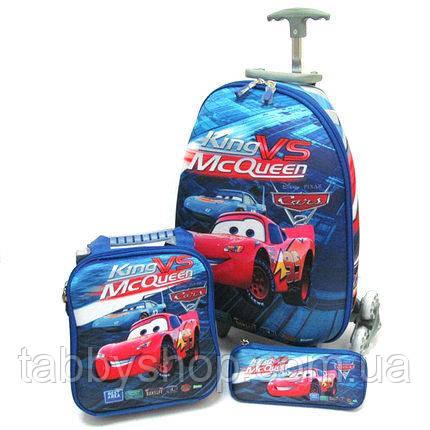 """Набір: чемодан дитячий на 6 колесах+сумка+пенал """"CR"""" L 16"""""""