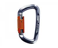 Карабин Singing Rock Keylock D Carabiner Twist Lock 30kN