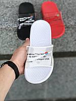 Сланцы. Шлёпанцы женские Nike OFF White (шльопанці). ТОП КАЧЕСТВО !!! Реплика класса люкс, фото 1